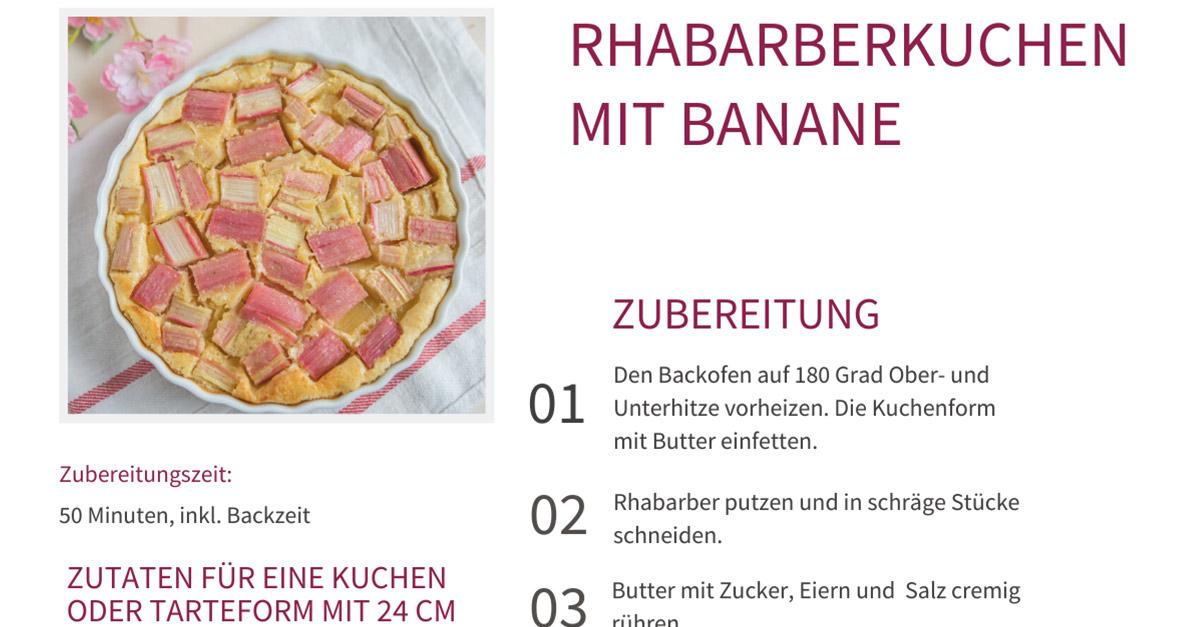 Rhabarberkuchen mit Banane_Facebook